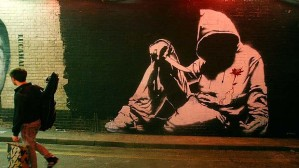 A rather cool Banksy pic that they used for my latest article