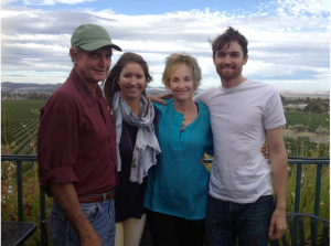 Ross Ulbricht (far right) and family