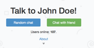 Chatroulette for the dark web