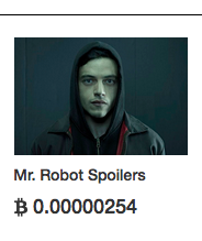 Mr Robot Spoilers - going cheap on the Dark Web